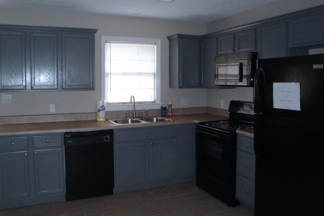 Stancil Drive Duplex Kitchen