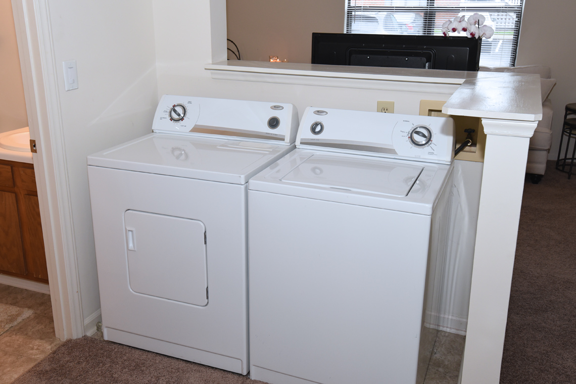 Wesley South at ECU & Brookfield at Lynndale - 2 Bedroom Laundry Area