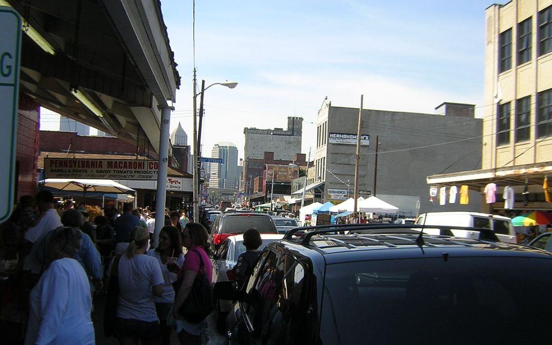 Restaurants in the Strip District