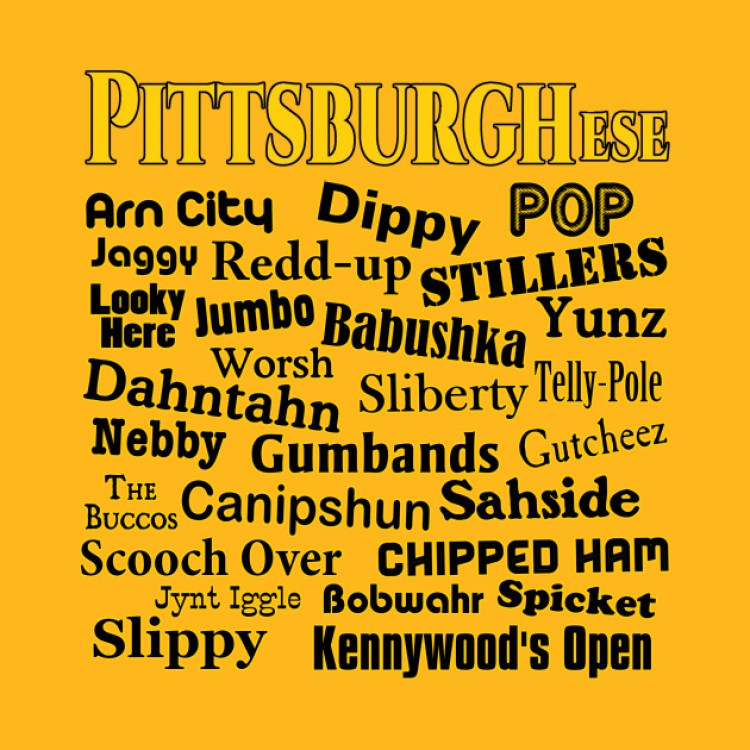 Pittsburghese Dictionary