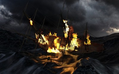 Did the Pirates Sink the Ship?