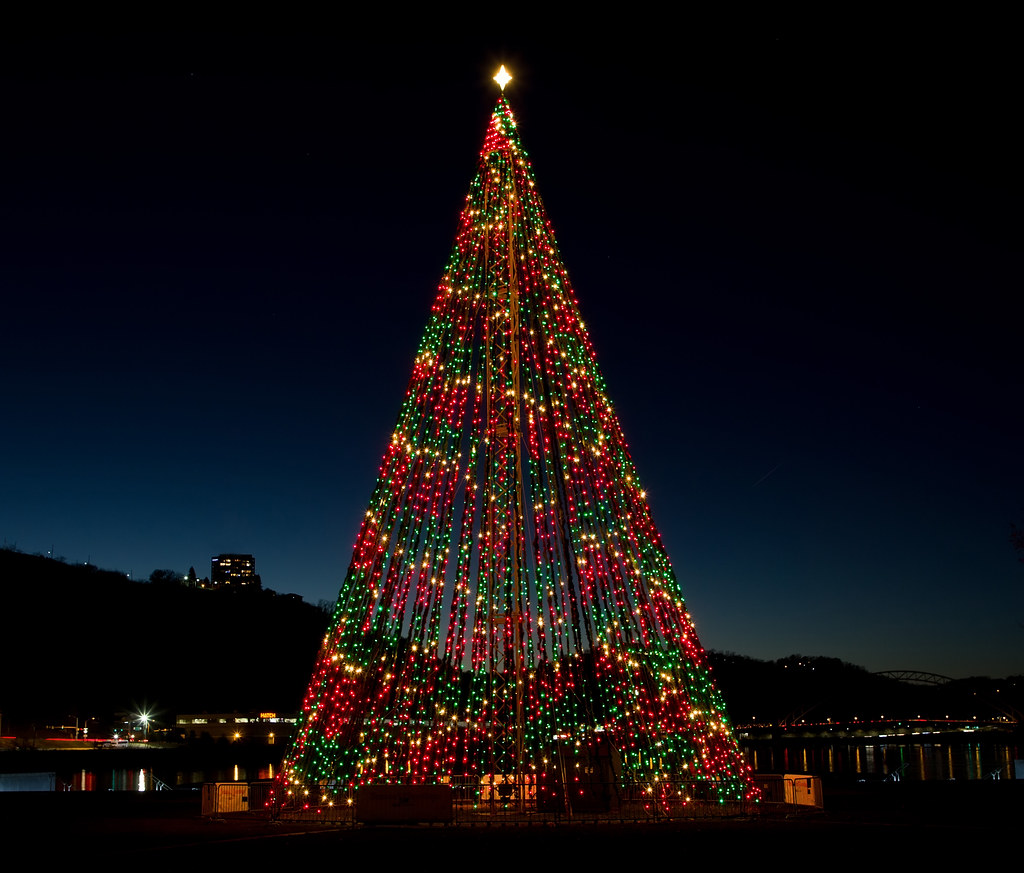 Christmas Tree Displays in Pittsburgh