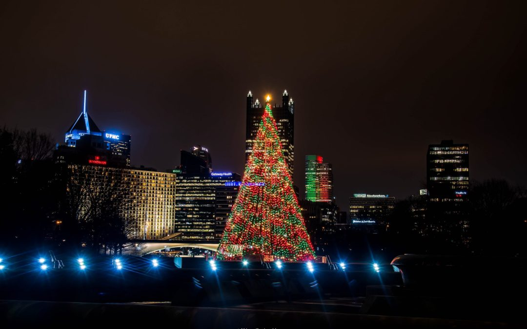 7 Great Christmas Tree Displays in Pittsburgh
