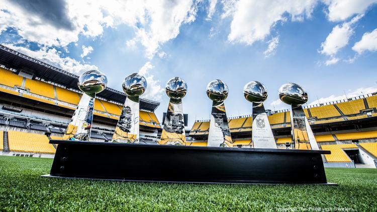steelers super bowl trophies
