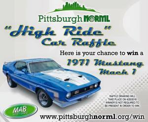 Win a 1971 Mach 1 Fastback on 4/20/16
