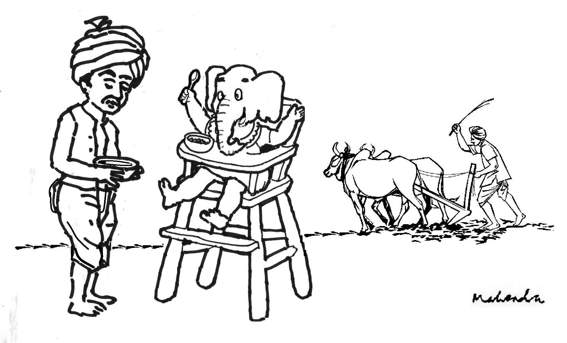 Farmer Meeting Cartoon Pictures To Pin