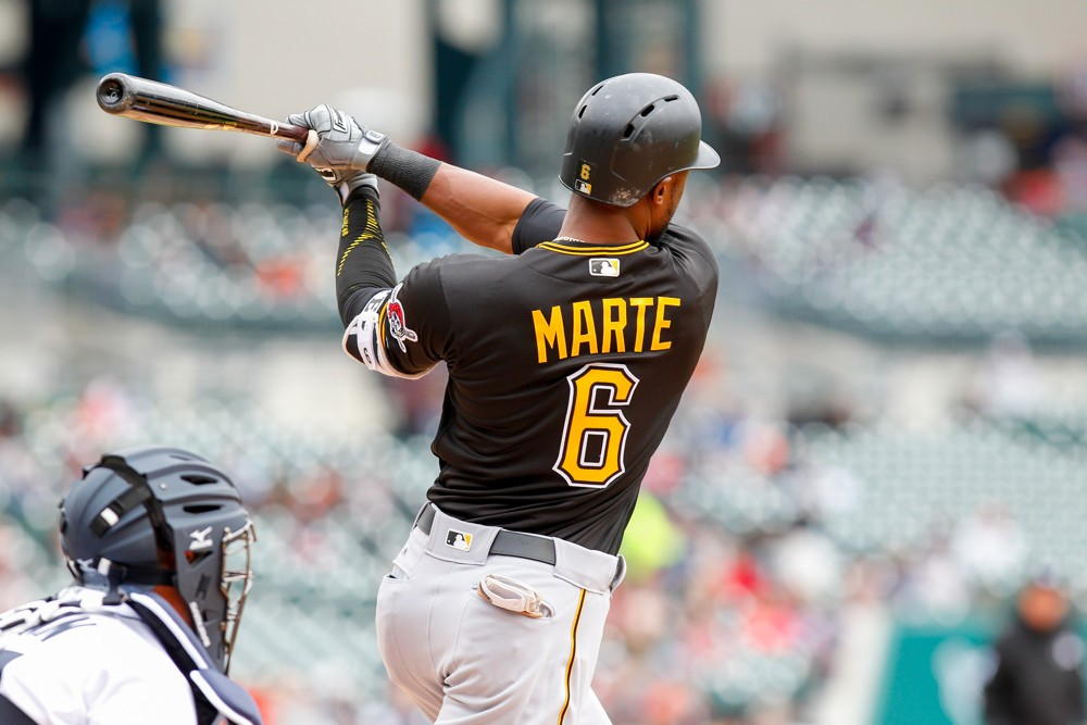 Pirates OF Starling Marte suspended 80 games for PED use