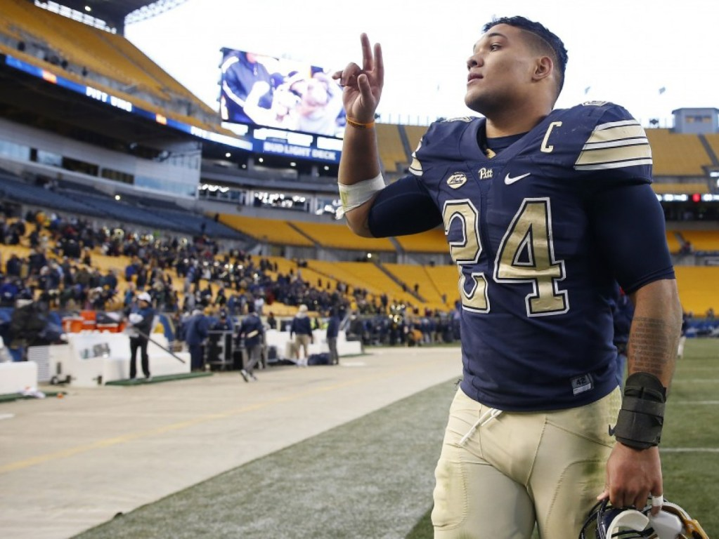 Pitt RB James Conner declares for 2017 NFL Draft