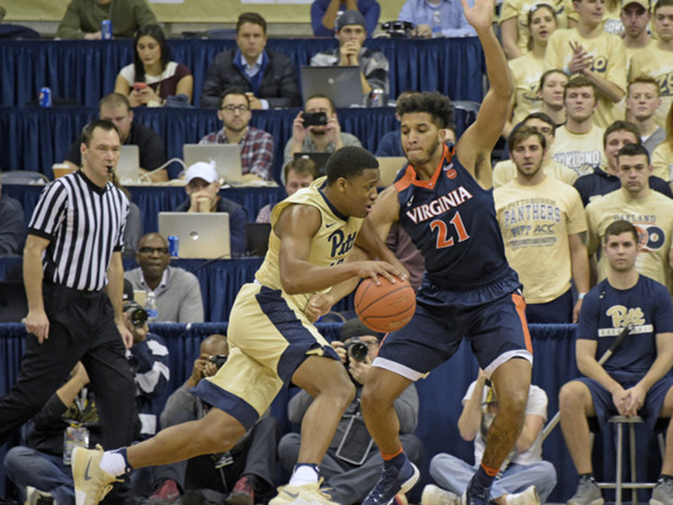 Pitt men's basketball loses regular season finale to Virginia
