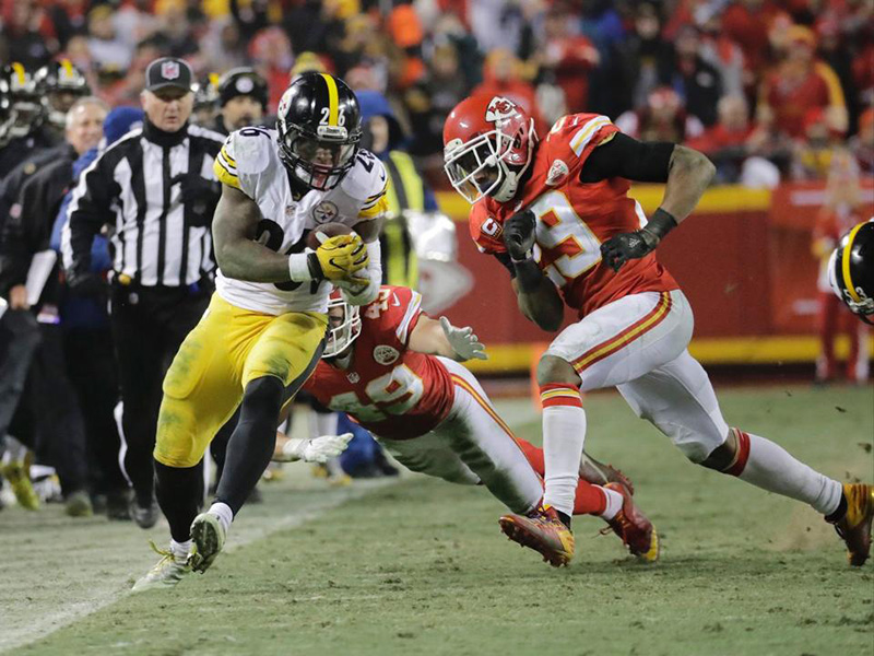 Three up, three down: Steelers vs. Chiefs