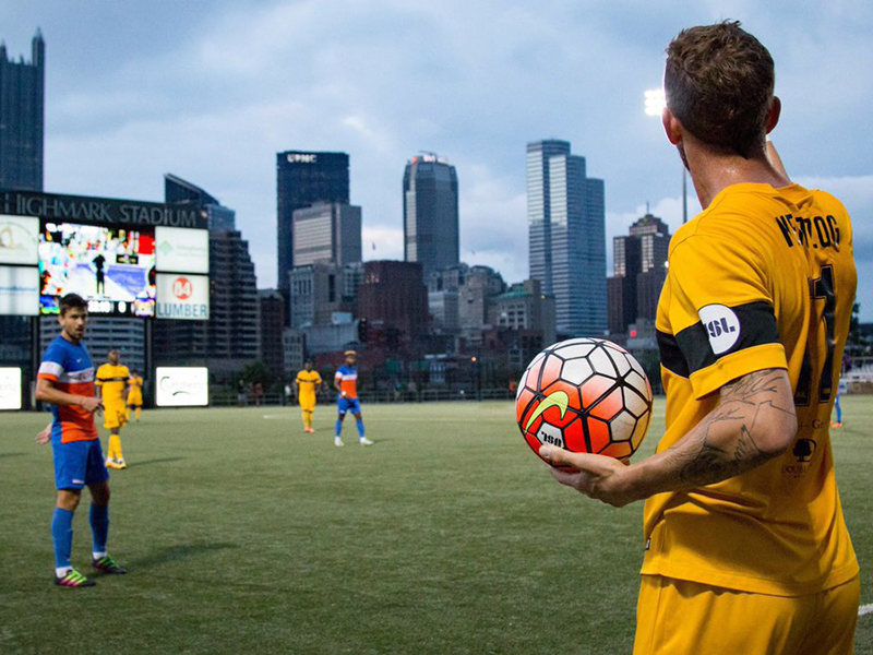 Kevin Kerr, Corey Hertzog talk Riverhounds preseason, new players
