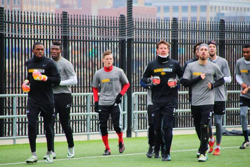 Riverhounds draw 1-1 in preseason opener