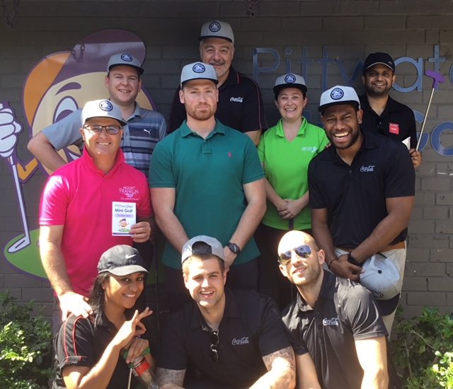 Mini golf Corporate group Northern Beaches