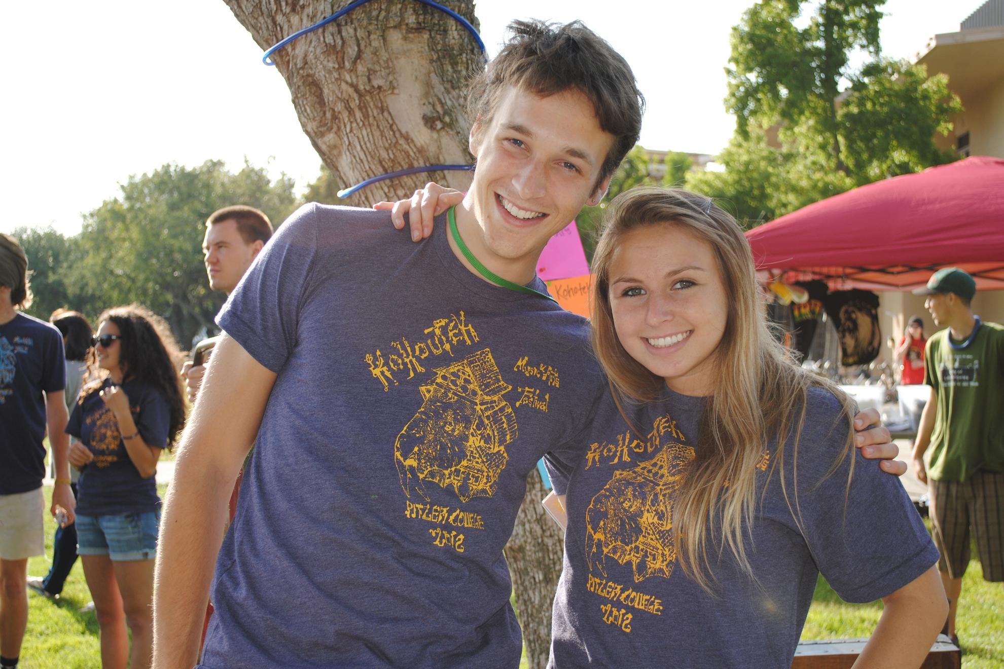 2012 - Students in Kohoutek t-shirts