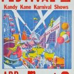 1978 - Poster advertising Circus Vargas