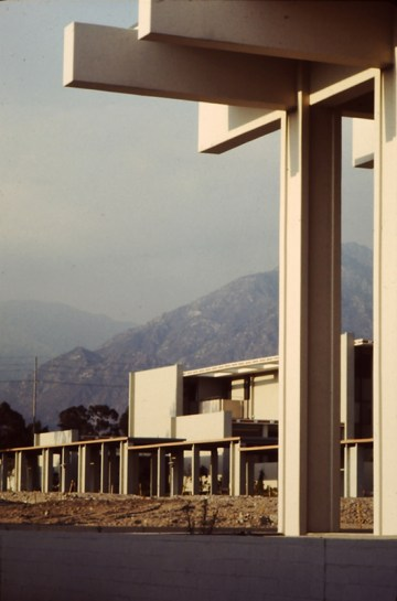 Mead Hall and Mountains from McConnell Center, 1967