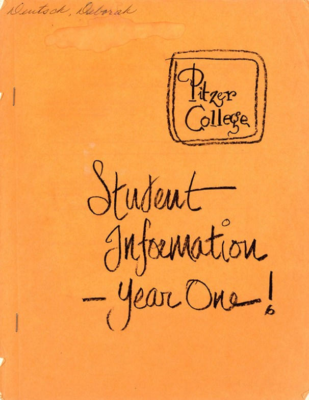 Cover of Student Information – Year One!