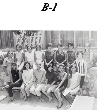 Page from Pitzer College Yearbook, 1965-1966