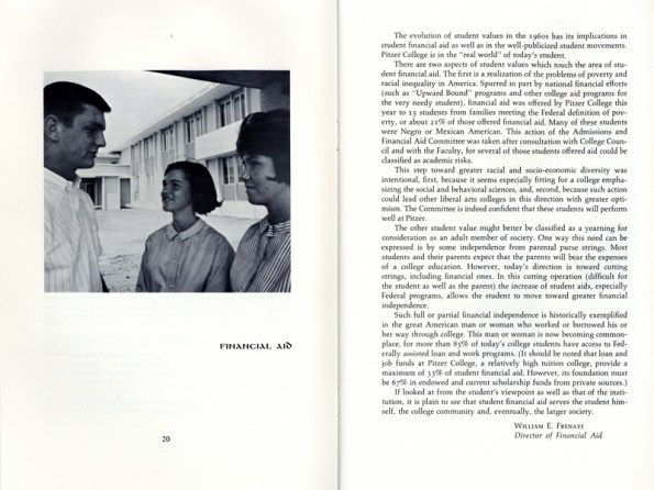 Page from The Annual Report of The President, 1966-67