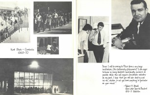 Pages from Pitzer College Yearbook, 1971-72