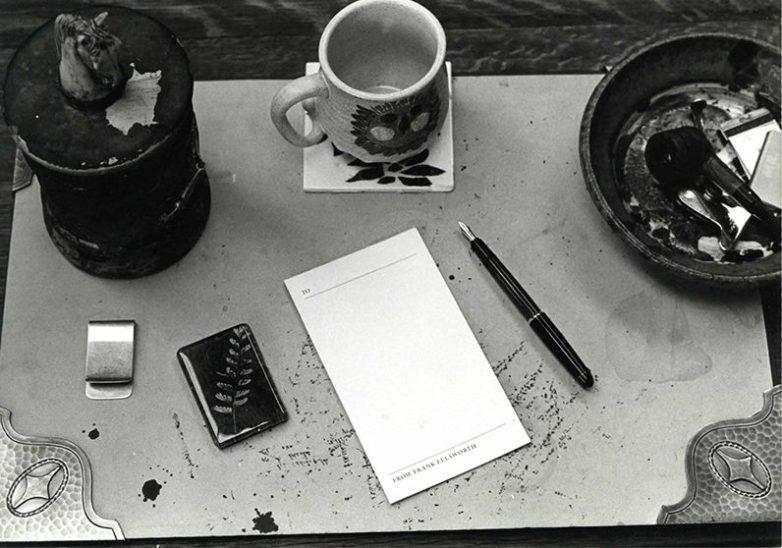 President Ellsworth's Desk, 1980