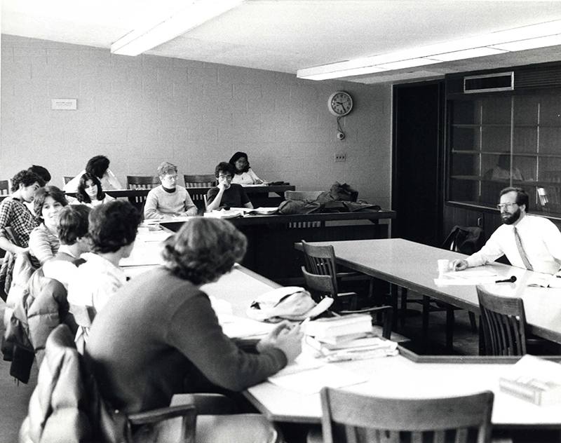 President Ellsworth Teaching, undated