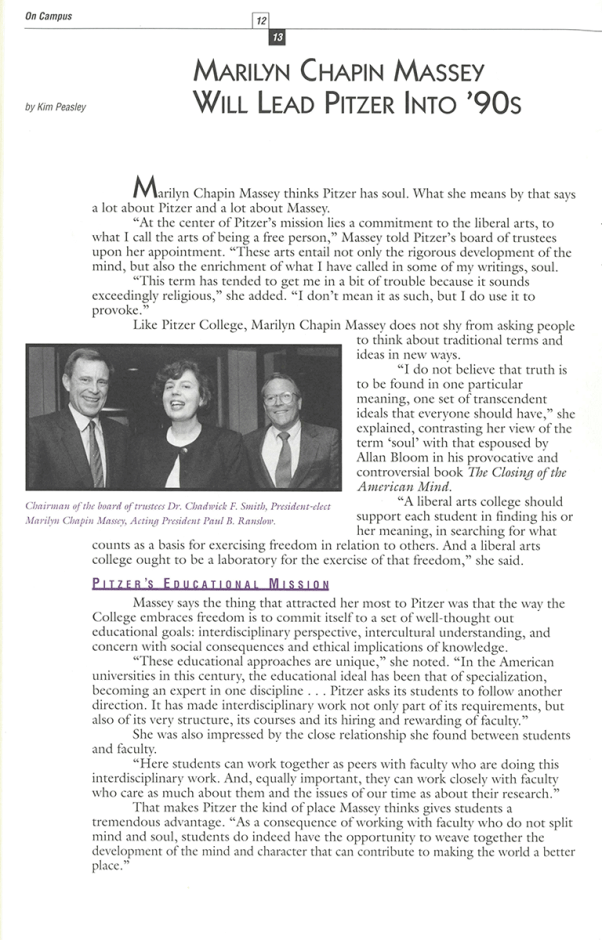 The Participant: Spring 1992, page 12