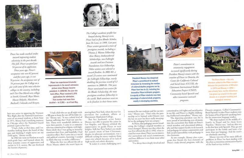 The Participant: Spring 2002, pages 18-19