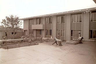 Holden Hall Patio, September 16, 1965