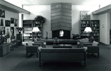 Lucian Marquis Library in Mead Hall, 1994