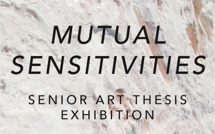 2018 Senior Art Thesis Exhibition: Mutual Sensitivities