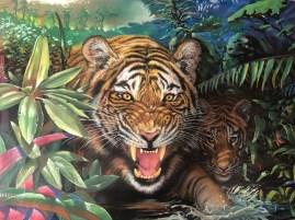 Stan Hunter, Natural Habitat, 1999, pastel on paper