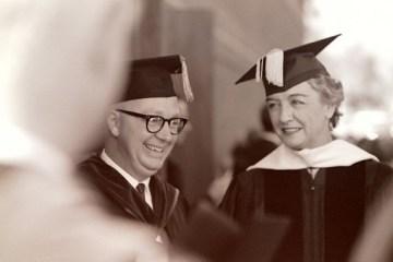 President John Atherton and Marya Mannes