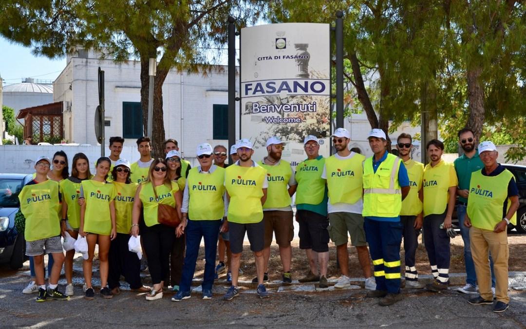 Passeggiata-Piùlita-volontari-associazione-onlus-pulizia-Fasano
