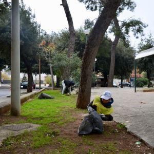 Volontari Piùlita Onlus Villa comunale Fasano