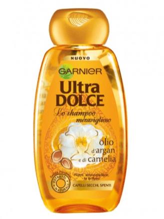 Garnier Ultra Dolce olio d'argan e di camelia