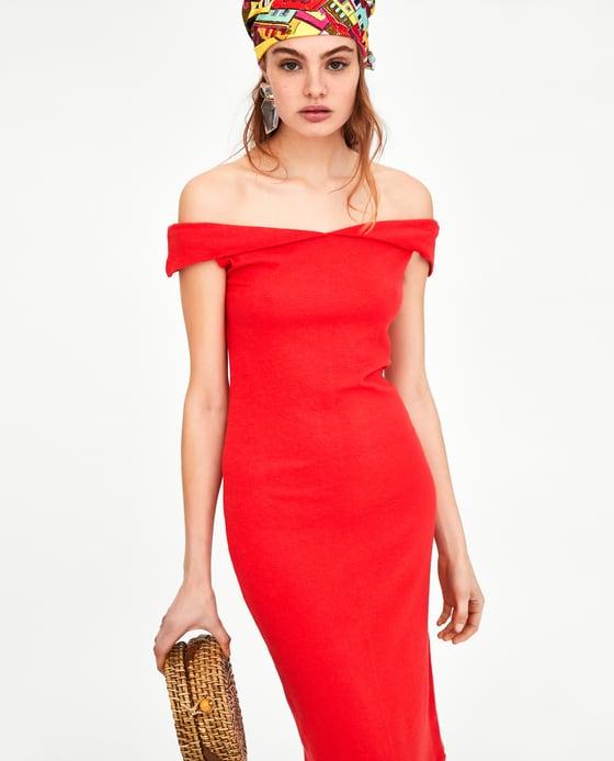 Zara vestito rosso
