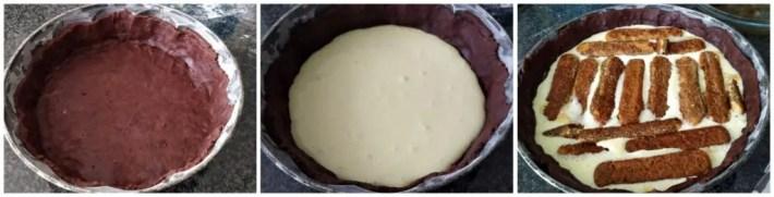 Crostata tiramisù al forno