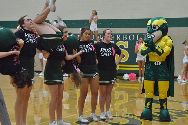 pius x cheerleading