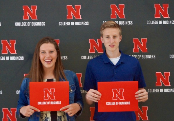 UNL event College of business entreprenurial students