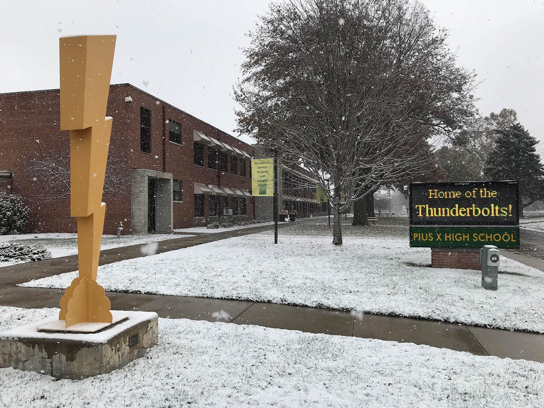 campus snow bolt