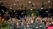graduation cap throwing