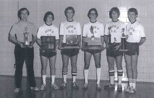 1978 Cross Country team members