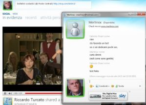 Chat Windows Live Messenger - Facebook
