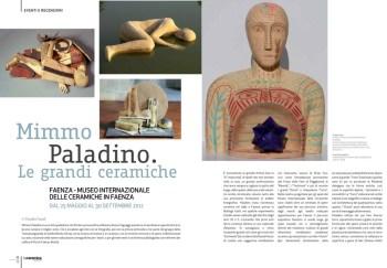 ceramica di Mimmo Paladino