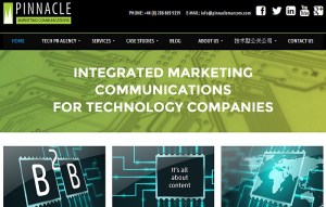 Pinnacle Marketing site