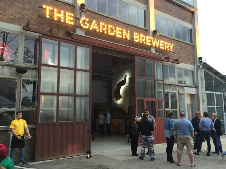 The Garden Brewery danju.