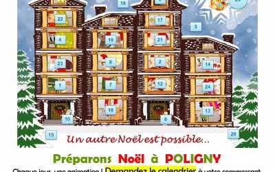 Préparer Noël à Poligny, une animation chaque jour !