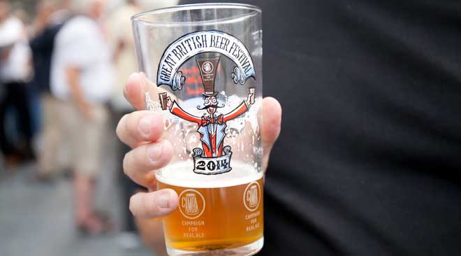 The Great British Beer Festival (GBBF)