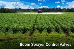 Boom Sprayer Control Valves